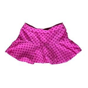 Okie dokie Pink Polka Dotted Skort 18mo